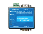 Serial Ethernet Converter (RS232, 485, 422), 2-ports