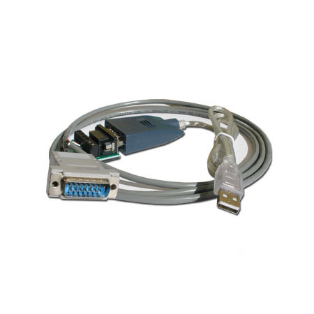 PLC-2 USB Programming cable + software - Click Image to Close