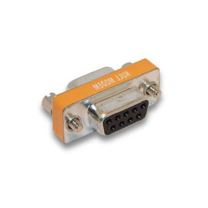 DB9 Null Modem Mini M/F