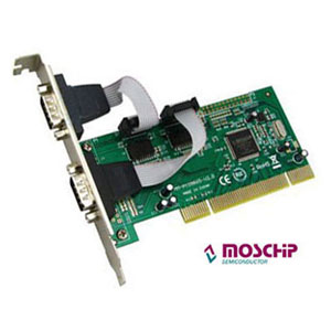 Serial PCI Card, 2 ports RS232