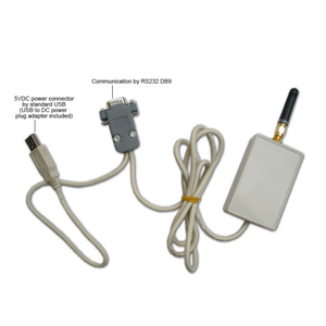 Serial RS232 Wireless RF Radio, 500 metre